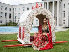 Mogul doli-see more ideas and pics on http://www.weddingsonline.in/blog/the-indian-doli-or-bidaai-the-bride%E2%80%99s-departure-to-her-husband%E2%80%99s-home/