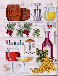 barrel, grapes