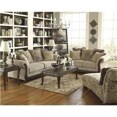 Benchcraft Gracie Anne   Barley Stationary Living Room Group   84201 Living  Room Group 2