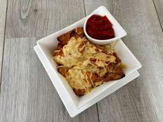 Recept: Tortilla chips met kaas Tortilla Chips, Cauliflower, Gluten Free, Vegetables, Food, Glutenfree, Cauliflowers, Sin Gluten, Veggies