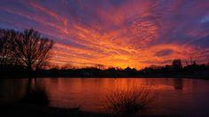 Naplemente a tónál - Sunset at the lake