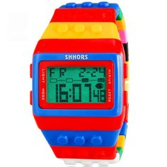 Shhors Lego Watch in Jewelry & Watches, Watches, Wristwatches | eBay