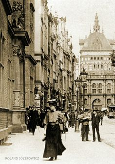 Danzig, Old Photos, Vintage Photos, Germany And Prussia, Krakow, Old City, Timeline Photos, Historical Photos, Old Town