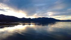 Always a beautiful sunset at the Lake of the Sky - Lake Tahoe!   -picture from Land & Garden / LClemons