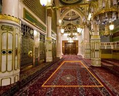 The approximate location of the house of Hafsa (may Allah be pleased with her