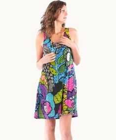 Vibrant Montego Bay Jersey Dress