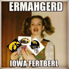 Iowa Hawkeye Football LOL
