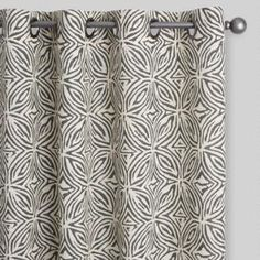 Modern Tribal Print Isla Grommet Top Curtains Set of 2 - Fabric Shower Curtains Are The Most Eleg Ivory Curtains, Printed Curtains, Grommet Curtains, Diy Curtains, Fabric Shower Curtains, Panel Curtains, Patterned Curtains, Curtains Living, Curtain Patterns