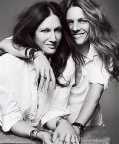 """Jenna Lyons & Courtney Crangi. Lyons, as the world knows, is the president of J. Crew, aka """"the woman who dresses America,"""" and Crangi is business partners with her brother, celebrity jewelry designer Philip Crangi. Fashion couldn't have asked for a chicer couple."""