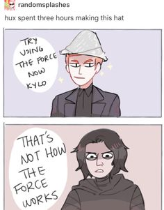 StarWars - Hux and Kylo