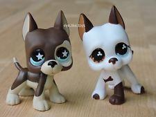 Hasbro Littlest Pet Shop Brinquedos Boneco Raro Great Dane, Filhote De Cachorro Littlest Pet Shop #817 & #577
