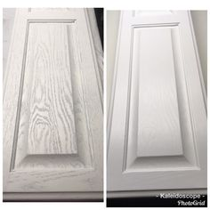 Aqua Coat White Grain Filler - Product How To - #kitchen #kitchenremodel #oak #furnituremakeover