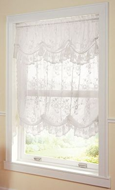 Collections Etc Allison Balloon Lace Curtain And Valance White Collections Etc http://www.amazon.com/dp/B00GH5E0AS/ref=cm_sw_r_pi_dp_-z5Ywb0MX3N83