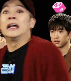 """the game was horrifying according to youngjae and jackson "" Yugyeom, Youngjae, Jyp Got7, Got7 Jackson, Mark Jackson, Jackson Wang Funny, Meme Got7, Got7 Funny, Jaebum"
