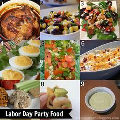 Labor Day Party Food