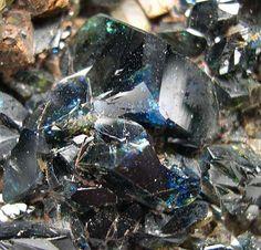 Lazulite from Rapid Creek, Yukon, Canada