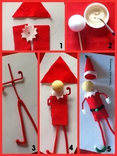 Comment fabriquer un lutin de Noël! Et il est articulé! - Bricolages - Trucs et Bricolages
