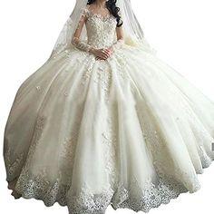 JoyVany Luxury Lace Cathedral Train Ball Gown Wedding Dre... https://smile.amazon.com/dp/B01LCS0CEW/ref=cm_sw_r_pi_dp_x_PM.CybQAJ7X97