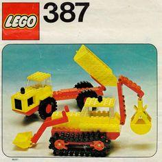 Legoland - Excavator and Dumper [Lego 387]