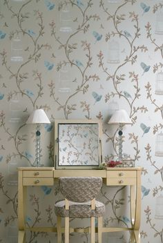 Birdcage Walk Wallpaper [Nina Campbell]