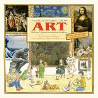 Explores periods of art and artists throughout history, and discusses thirty-five well-known painters and sculptors including Rembrandt, Claude Monet, Michelangelo, and Pablo Picasso.