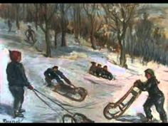 Belo Felix Deťom: Sniežik - YouTube Youtube, Painting, Painting Art, Paintings, Painted Canvas, Youtubers, Drawings, Youtube Movies