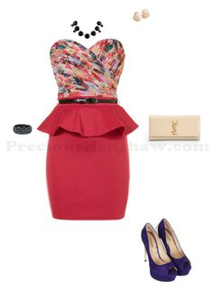 Style of the night :: Pink + Purple http://www.polyvore.com/cgi/set?id=89286931