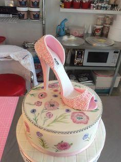 Flower shoe by Penny Sue