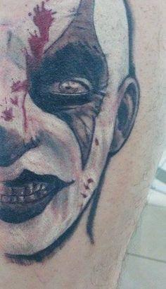 #evil #clown #horror #face #shadowplay #tattoo #cubo