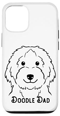 iPhone 12/12 Pro Doodle Dad Love cute puppy Design Case One in a Melon Dog Lover Gifts, Dog Gifts, Dog Lovers, One In A Melon, Design Case, Cute Puppies, Dads, Doodles, Snoopy