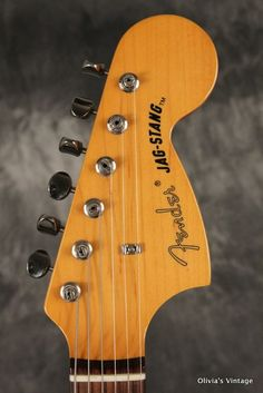 Fender Jag-Stang 1994 Blue, crafted in Japan designed by Kurt Cobain