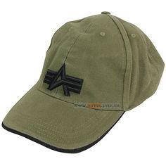 Кепка Alpha Industries Big A Cap (оливкова) Наявність: під замовлення  Ціна: 20 $