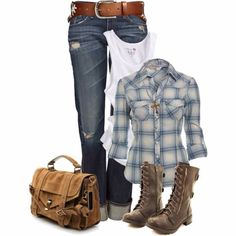 Maybe with cowgirl boots instead of army boots