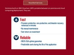 NovaTech Services consultants have in-depth expertise and experience on a wide range of applications.