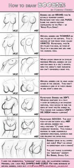 skiribilla:  come disegnare le tette (ht Armando Rossi)