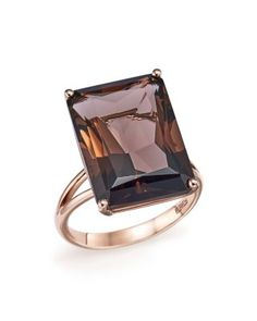 609120d97 Bloomingdale's Smoky Quartz Statement Ring in 14K Rose Gold - 100%  Exclusive Jewelry & Accessories - Bloomingdale's