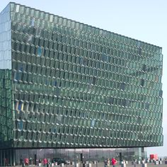 Harpa Concert and Conference Centre in Reykjavik