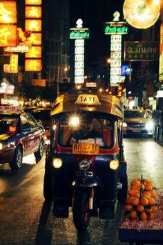 Tuk Tuk nights, Bangkok, Thailand