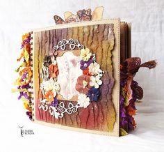 "Handmade by Yulianna: Альбом ""Butterfly garden"" + Видео МК ""Craft jars"""