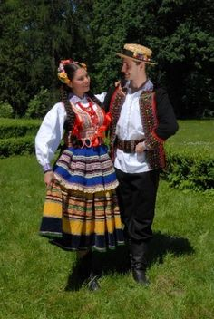 Lublin, Poland – traditional costume