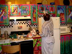 Ideas for painting kitchen cabinets  http://paintingkitchencabinetscolorideas.com/ideas-for-painting-kitchen-cabinets-an-overview#