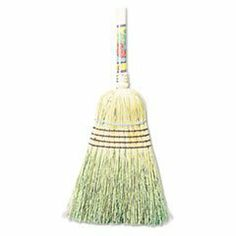 "* Warehouse Broom, Corn Fiber Bristles, 42"" Wood Handle, Natural by MotivationUSA. $16.13. For heavy-duty sweeping. Heavy metal band with four rows of stitching for strength and durability. Lacquered wood handle. Application: Concrete; Bristle Material: Corn Fiber; Bristle Length: N/A; Handle Material: Wood."