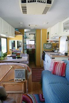 If we buy an RV, want to know I can paint the oak cabinets white.  Need to brighten up the place!