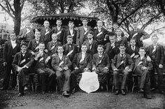 Borussias Gründungsväter im August 1900