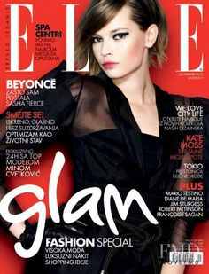 Covers of Elle Serbia with Mina Cvetkovic, 000 2009 | Magazines | The FMD #lovefmd