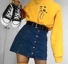 Masz na imię Ola masz 17 lat, jesteś pół Polką i pół koreanką. Mieszkasz w Polsce z swoją mamą, nie macie za dobrych ko... #retrooutfits Teen Fashion Outfits, Mode Outfits, Korean Outfits, Girl Outfits, Jeans Fashion, Club Outfits, Party Outfits, Fashion 2020, Fashion Fashion