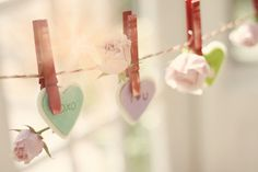 Hearts on the line, via Flickr.
