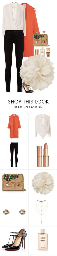 """""""Sun Malika"""" by cefizzy ❤ liked on Polyvore featuring Roksanda, Michelle Mason, Gucci, Charlotte Tilbury, GEDEBE, Bernard Delettrez, Charlotte Russe, Christian Louboutin, Chanel and Yves Saint Laurent"""