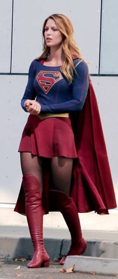 Supergirl starring Melissa Benoist premieres Monday October 26, 2015 at 8:30pm.