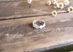 浪漫主義純銀戒指-BLUMA布瑪小鎮設計師手作銀飾&復古飾品-